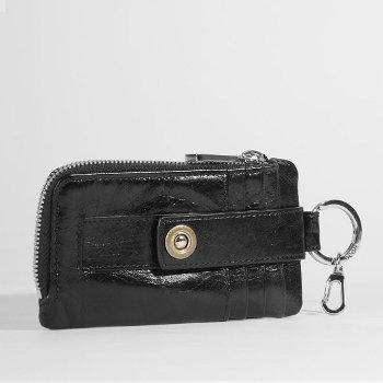 Hobo International Cali Credit Card Wallet In Black - Touch Of Class La Crosse