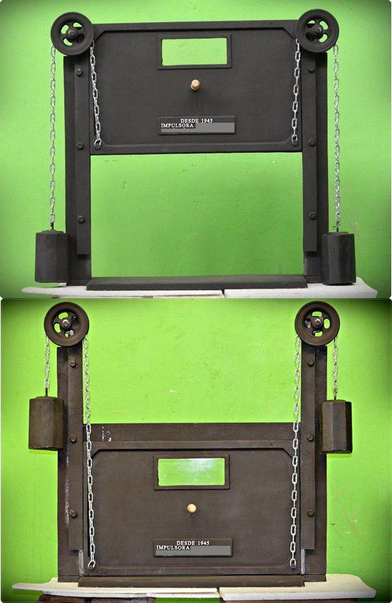 Puertas Para Hornos De Barro Hornos Como Hacer Un Horno Parrillero