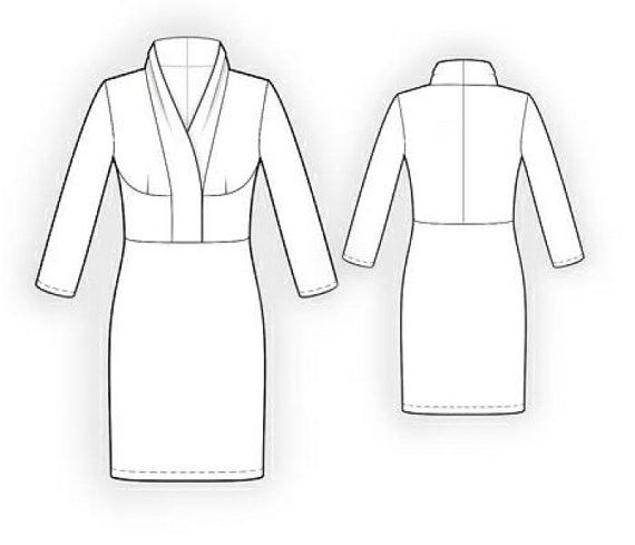 Lekala 5942 - Dress Sewing Pattern PDF Download, Free Made to ...