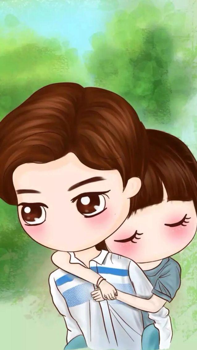 Wallpaper Cute Couple Cartoon Anime Love Couple Cartoons Love