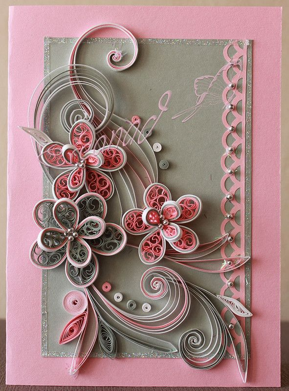 modeles quilling quilling pinterest paperolles cartes et tutoriel diy. Black Bedroom Furniture Sets. Home Design Ideas