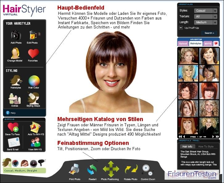 Stilvollen Frisuren Testen 2015 Check More At Ranafrisuren