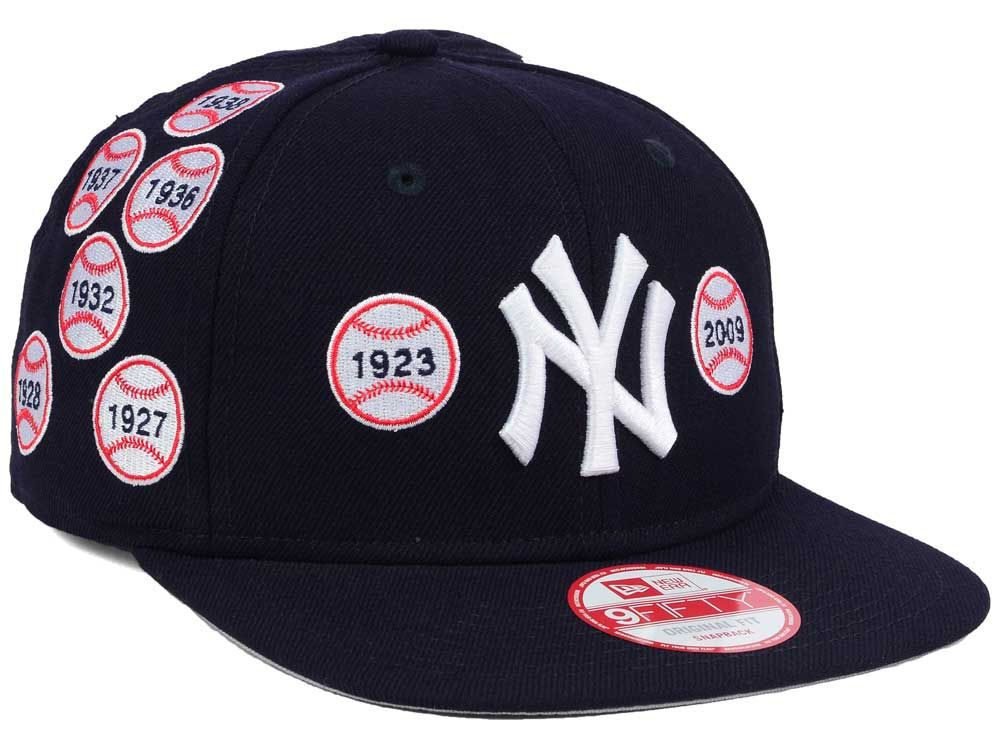 New York Yankees New Era Mlb Lids 20th Anniversary Spike Lee Collection 9fifty Snapback Cap Yankees Fitted Hat World Series Hats Yankee Fitted
