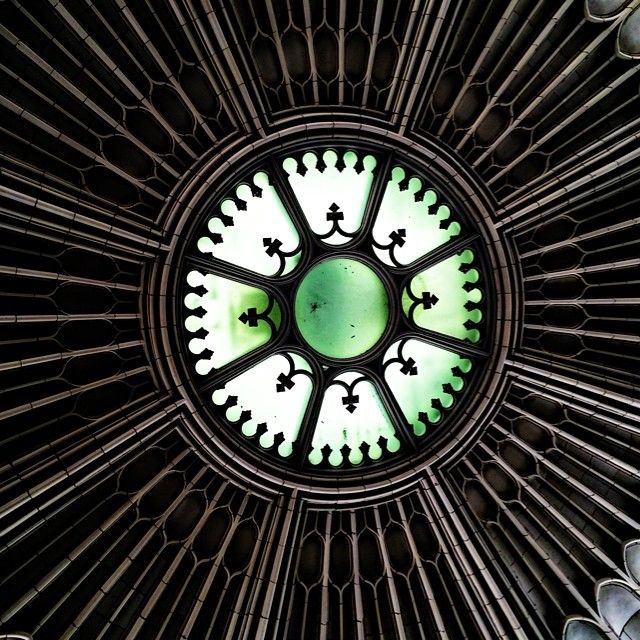 Center of the Healey rotunda #atlanta #downtownatlanta #architecture