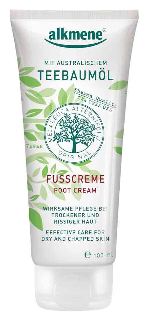 Alkmene Tea Tree Oil Foot Cream Krema Podiwn 100ml Organic Tea Tree Oil Tea Tree Oil For Acne Coconut Oil Skin Care