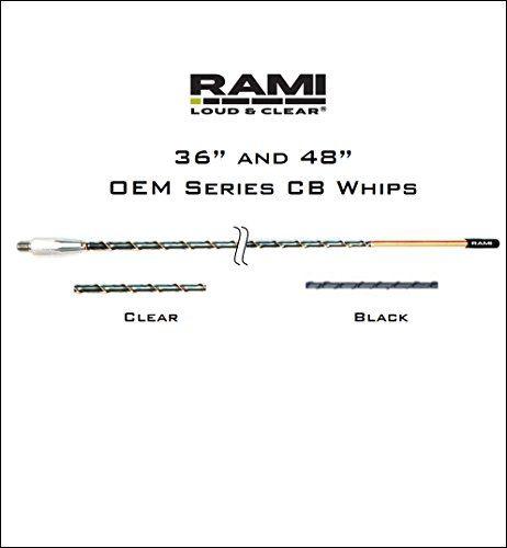 RAMI 3 Black Multiband Antenna OEM Series Fiberglass CB AM
