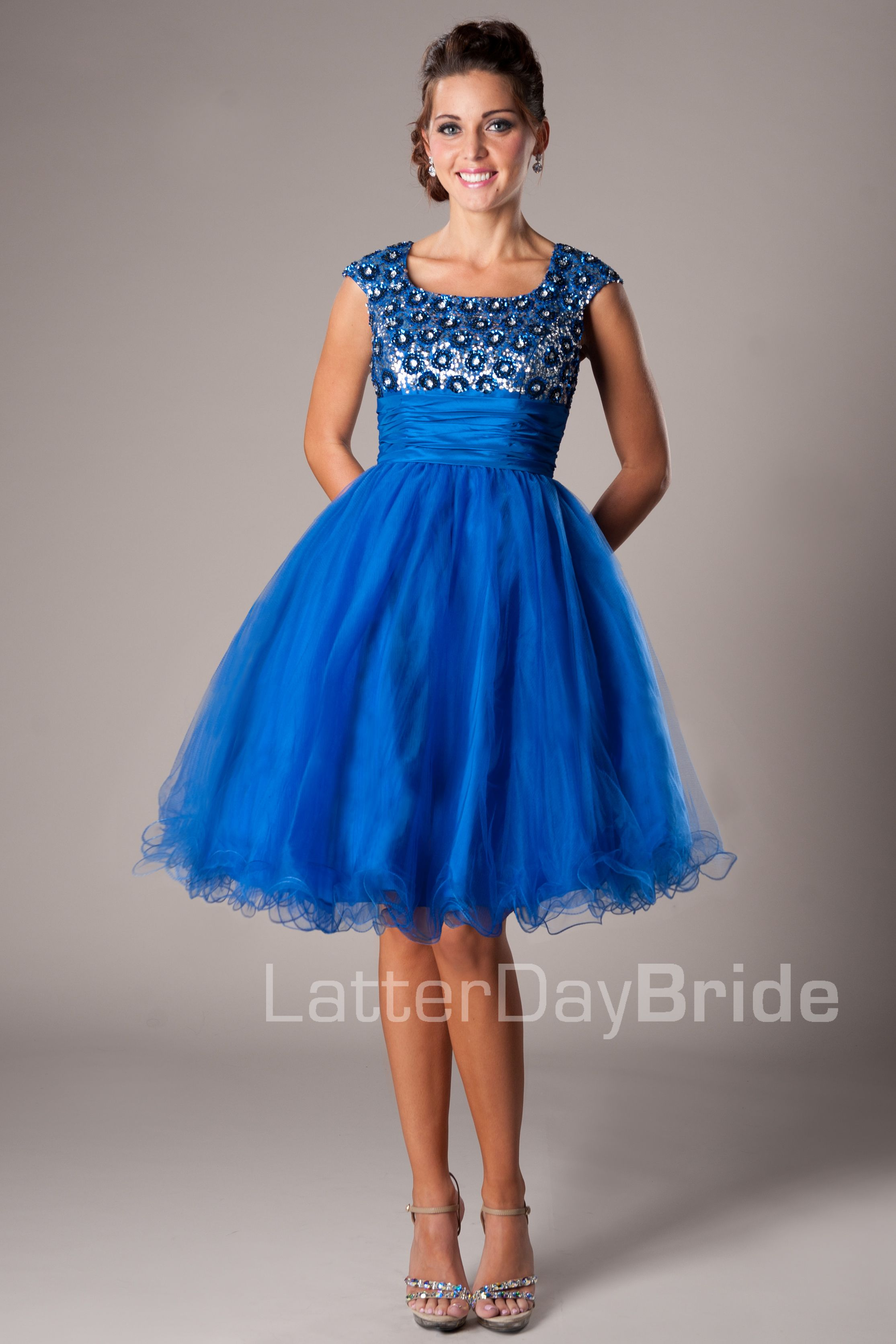 Avalynn -Modest Mormon LDS Prom Dress | Modest Prom Dresses ...