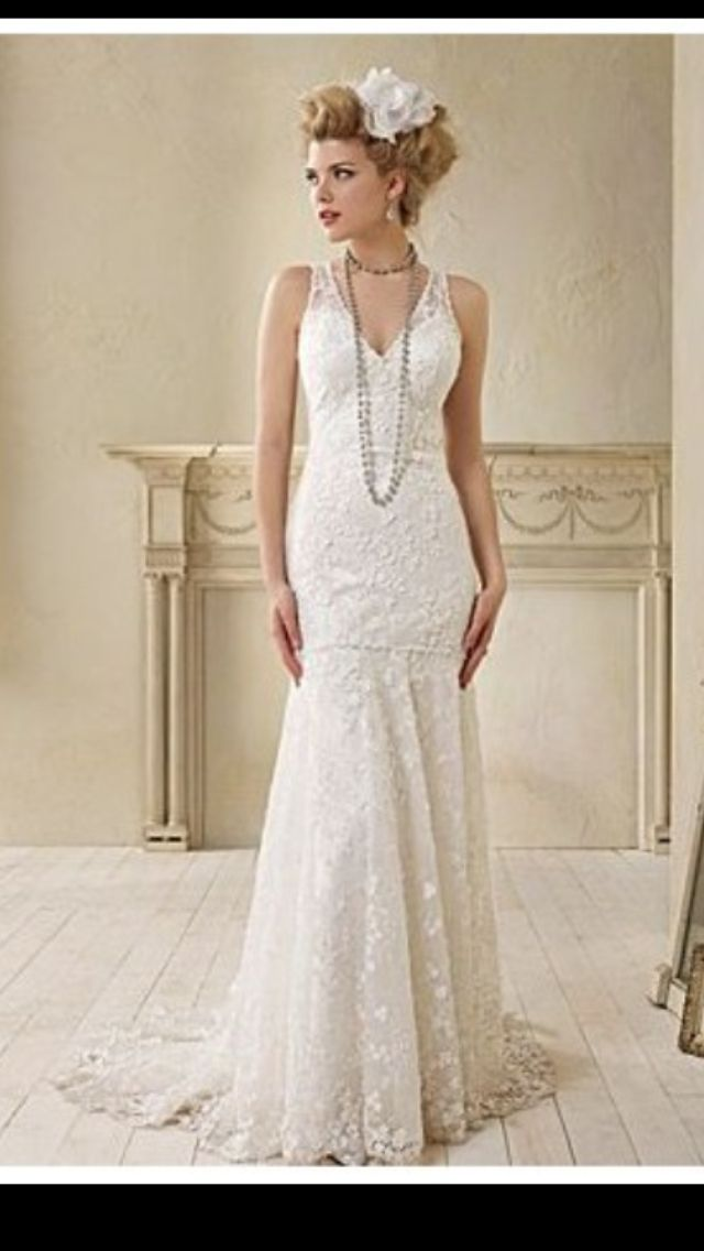 Vintage Inspired 1920 S Gangster Wedding Dress I Love This More