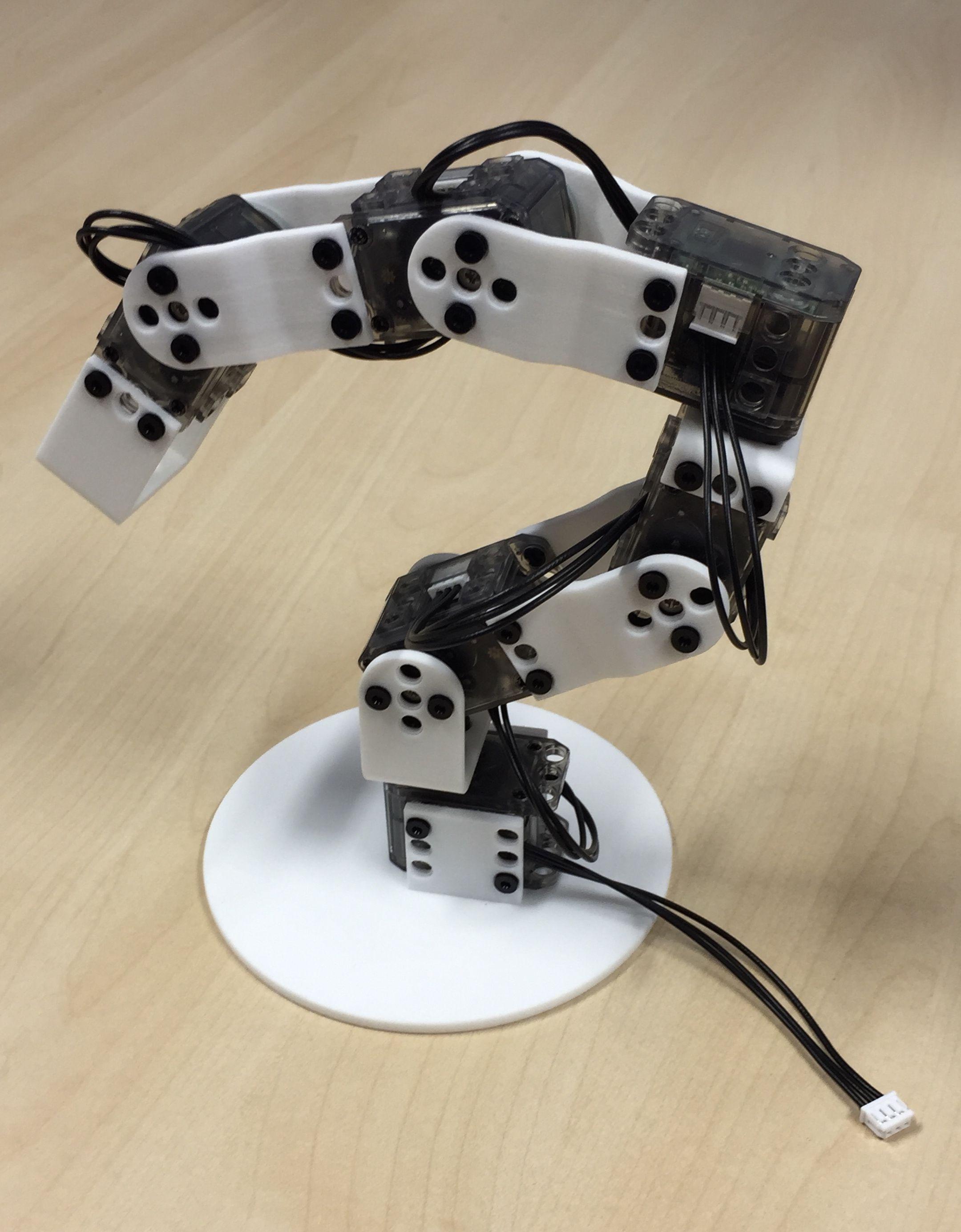 PoppyErgoJr | Robot | Robot, Robot arm, Projects