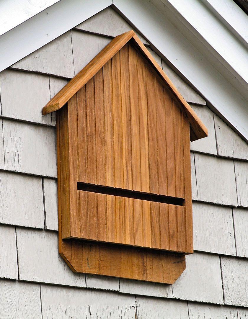 Bat Box: Teak Bat Dom | Ogrodnika Supply