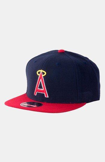 128230ace68 Men s American Needle  California Angels 1973 - 400 Series  Snapback Baseball  Cap - Blue