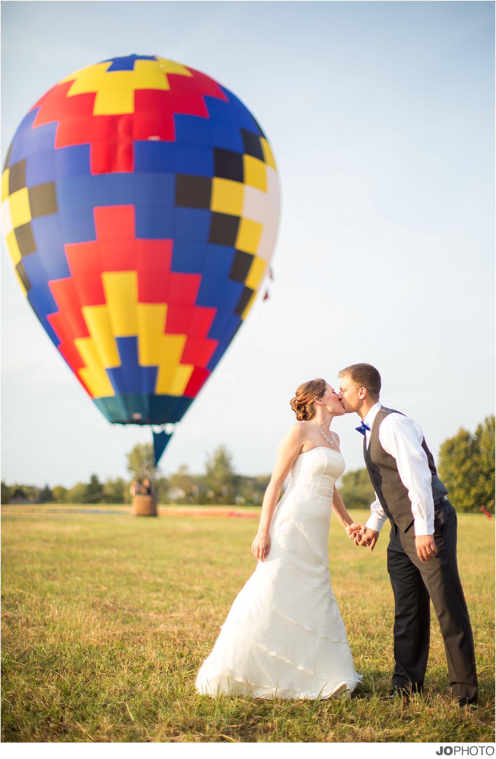 Balloons for wedding - Hot Air Balloon Wedding