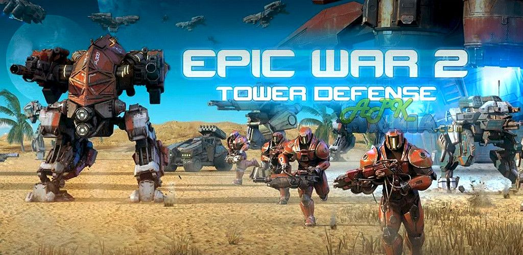 Epic War TD 2 v1.01 Frenzy ANDROID games and