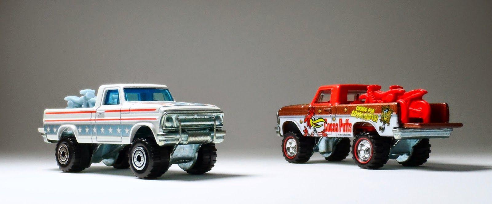 Ford F-100 (Texas Drive 'Em) - Hot Wheels