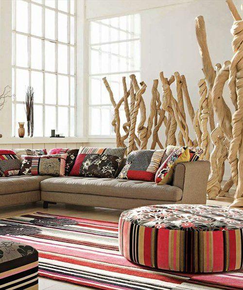 Sectional Sofa With Removable Cover Kansai By Roche Bobois Design Philippe Bouix Idee Arredamento Soggiorno Decorazione Di Stanze Idea Di Decorazione