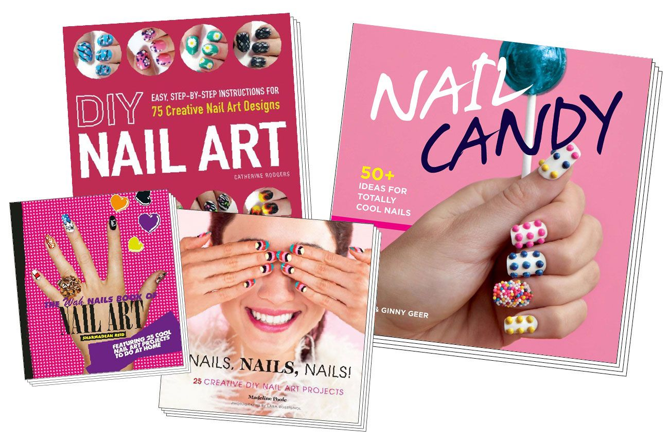 Four Nail Art Books To Buy Now Simple Nail Art Designs Easy Nail