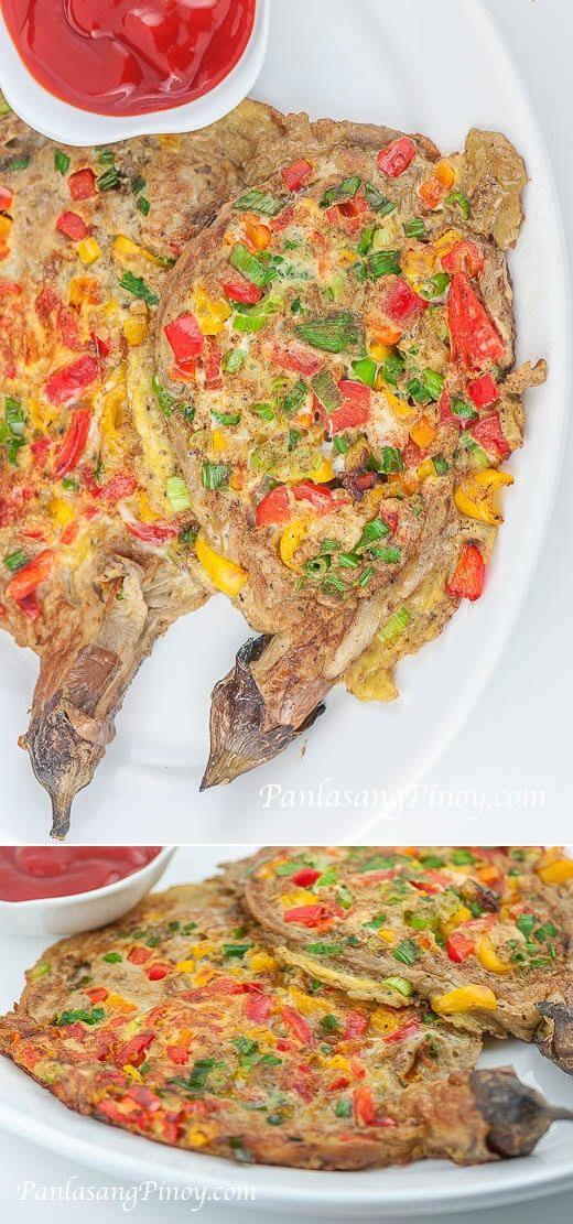 Stuffed Eggplant Panlasang Pinoy Recipe Eggplant Recipes Recipes Roasted Eggplant Recipes