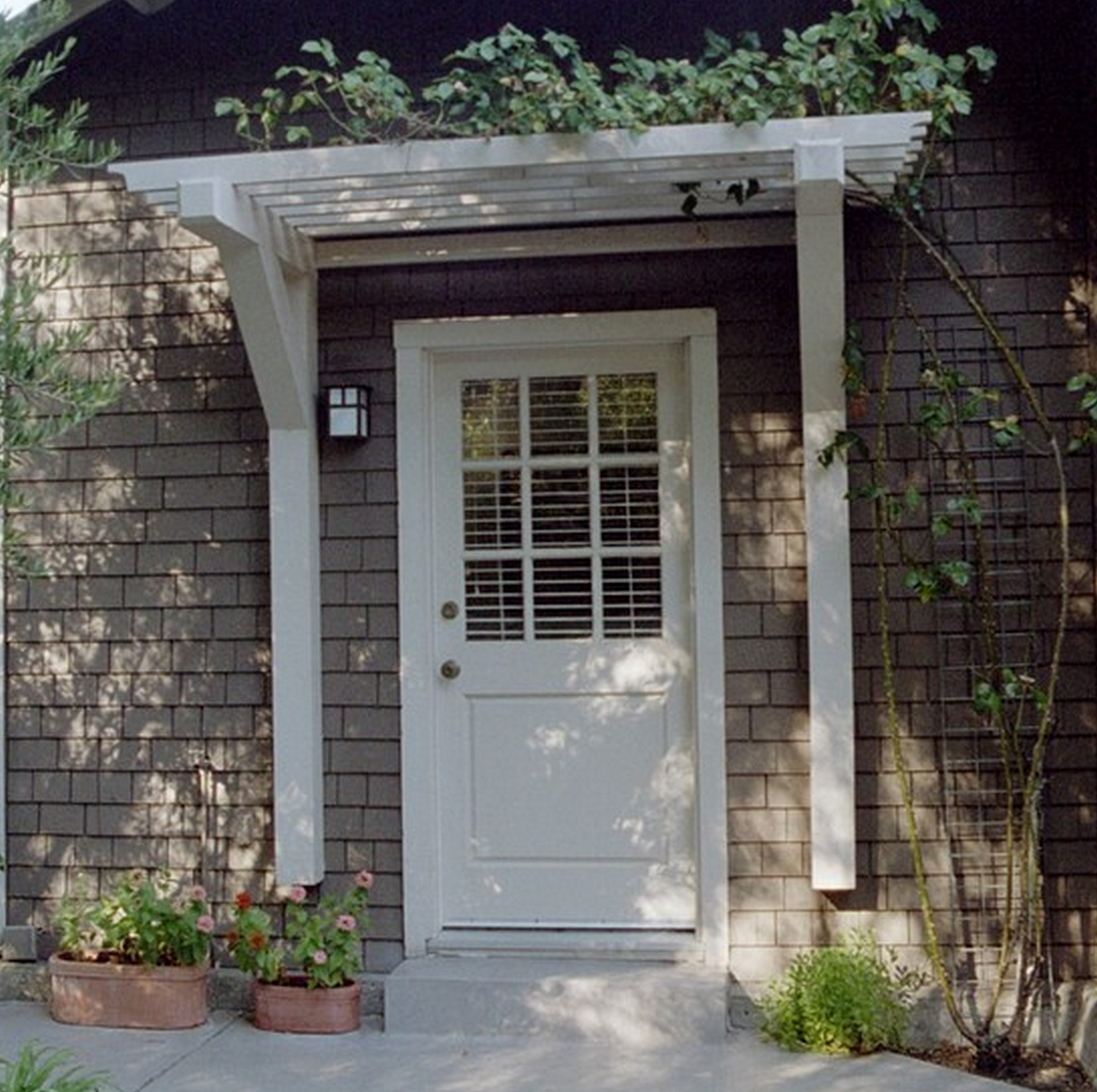 Good Pergola Front Entrance   Google Search Curb Appeal, Back Door Entrance, Front  Door Awning