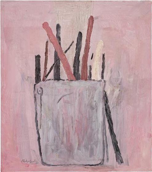 Philip Guston, 'Brushes' (1969)