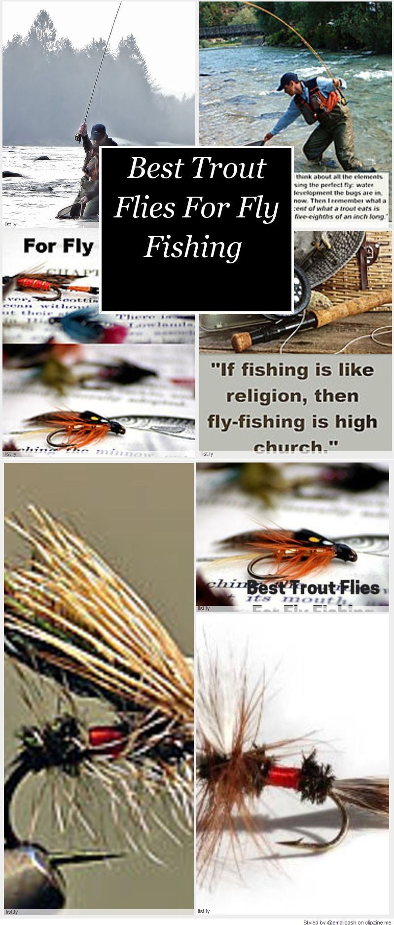 Best Trout Flies For Fly Fishing | Pesca con moscas y Pesca