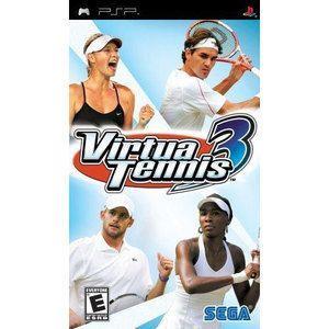 Virtua Tennis 3 Psp Game Sports Video Game Mini Games Psp