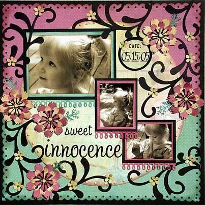 Sweet innocence from scrapbook24/7