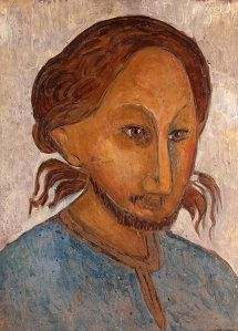 A 1924 portrait of Pavel Florensky