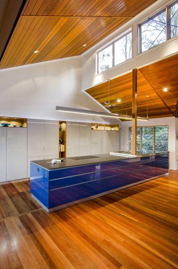 Love A Clerstory Window Don't You Hillside Retreat  Kitchen Alluring Kitchen Designer Brisbane Design Inspiration