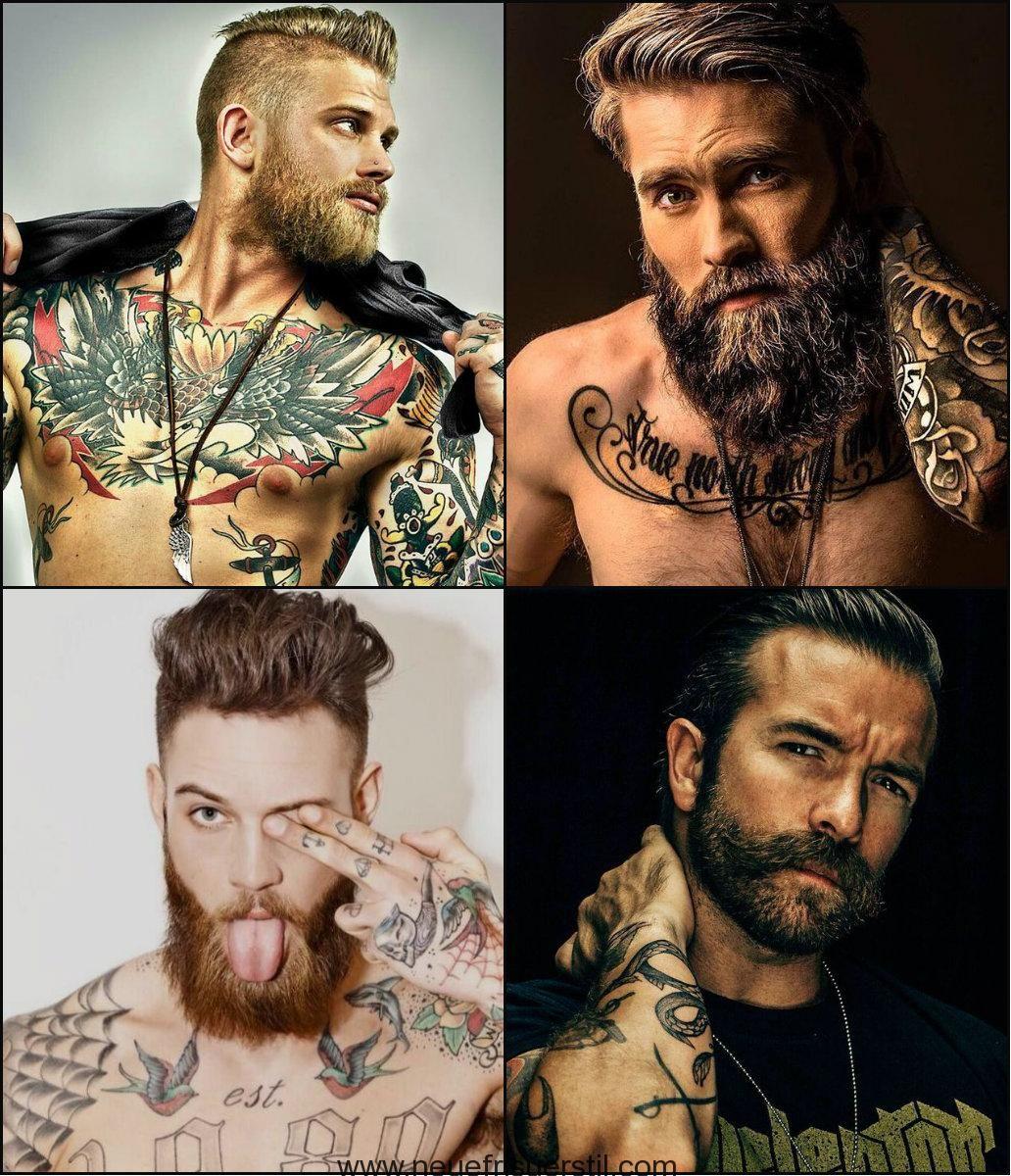 best-mens-hairstyles-with-beards-2018 | lasse og nokkrir aðrir