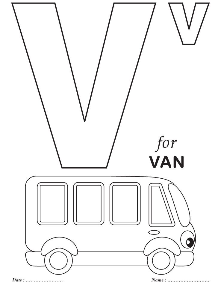 v coloring pages for preschool-#6