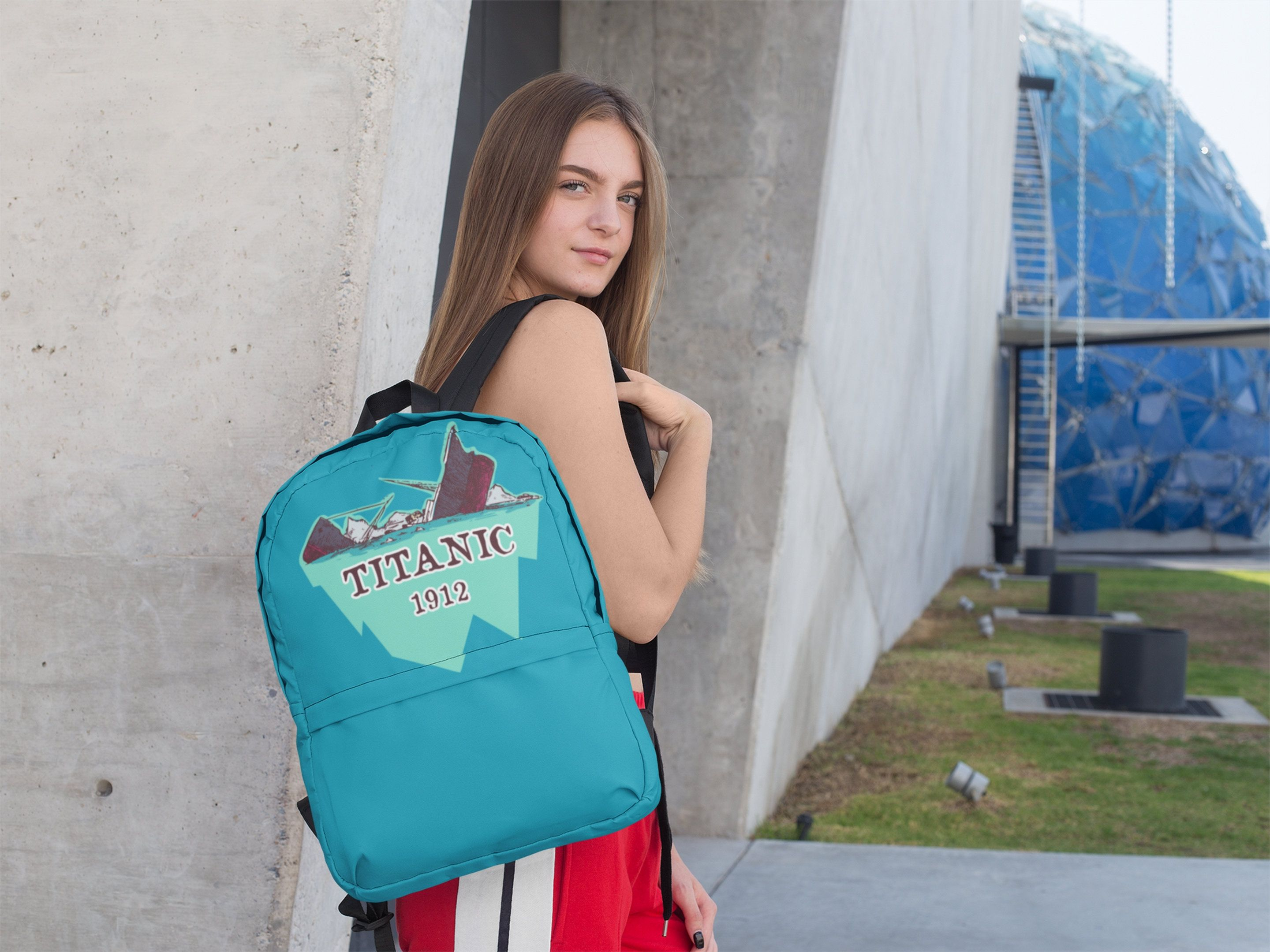 Titanic Art Backpack For Pupils Amp Students Funny T For