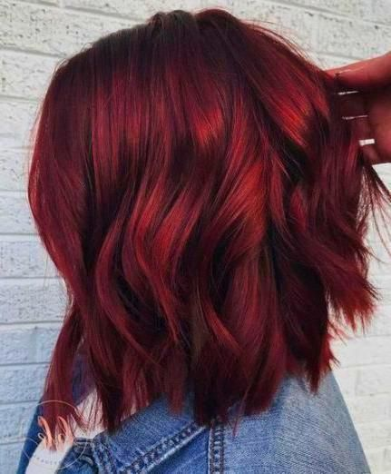 Home Decor Inspiration 61 Ideas Hair Color Ideas For Brunettes With Red Burgundy Colour Winterhaircolor Short Red Hair Brunette Hair Color Red Hair Color