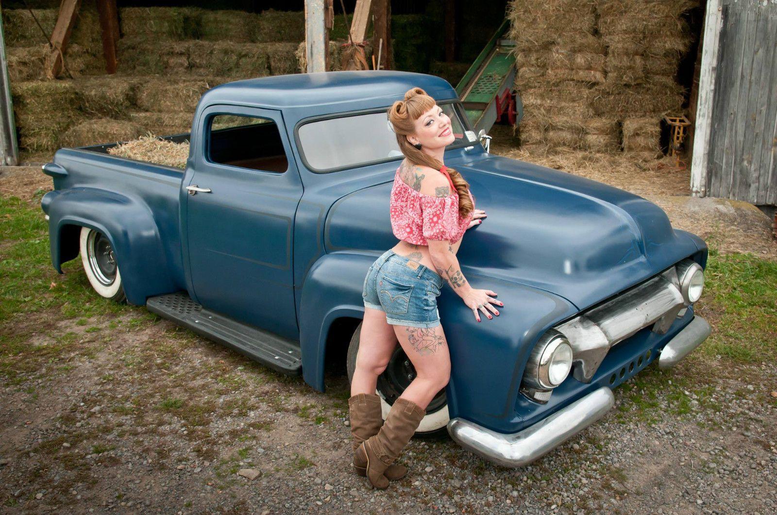 1954 Ford F100 Chopped Top Lead Sled Rat Rod | Ford trucks ...