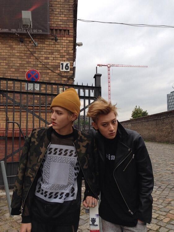 EXO | KRIS AND TAO