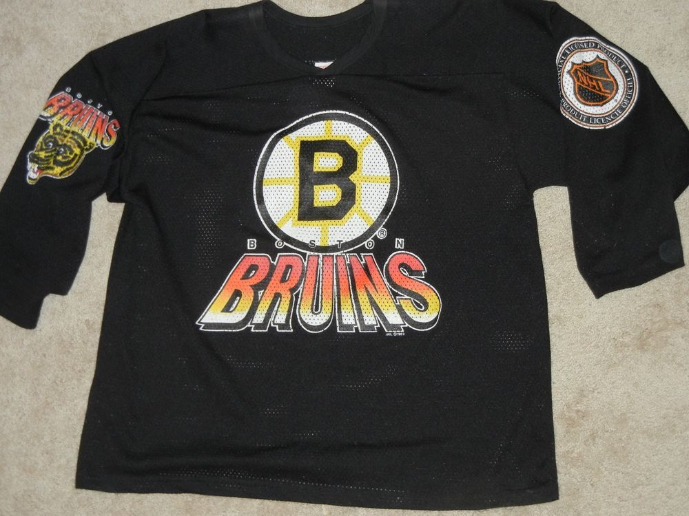 Vintage 90s NHL Boston Bruins Hockey Jersey Maska CCM XL  CCM  BostonBruins 4dff4dcb8