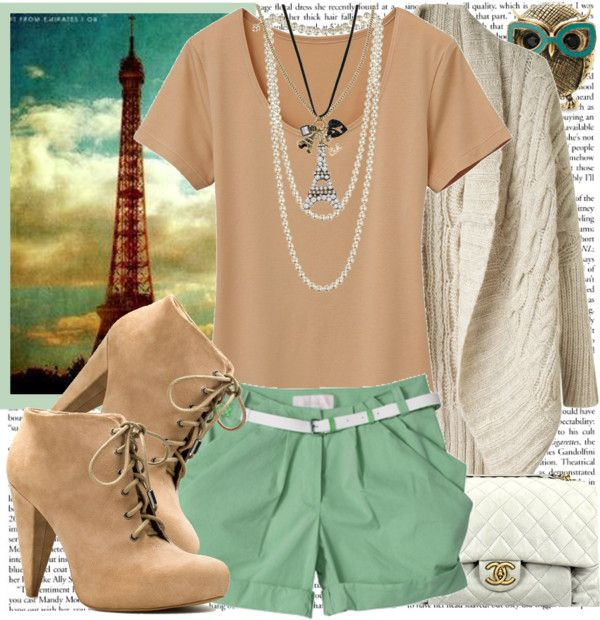 """""""Easy & Breezy"""" by karineminzonwilson ❤ liked on Polyvore"""