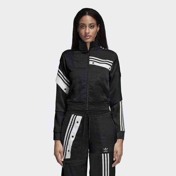 14a849d9930c1b Danielle Cathari Deconstructed Adidas Track Jacket Black   White DT6271