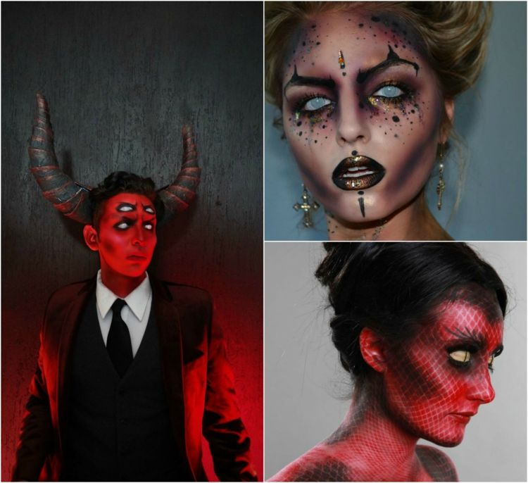 Teufel schminken weiblicher Teufel namen