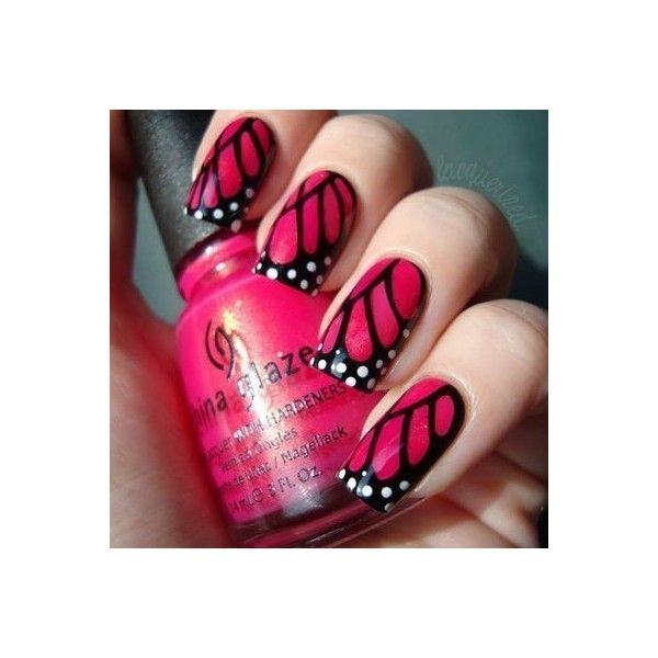 nails,(: clipped by rainn. you should use♥, found on #polyvore. #nails #pictures #makeup nail polish
