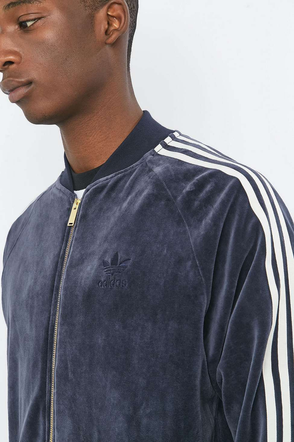 Adidas superstar jacke velour