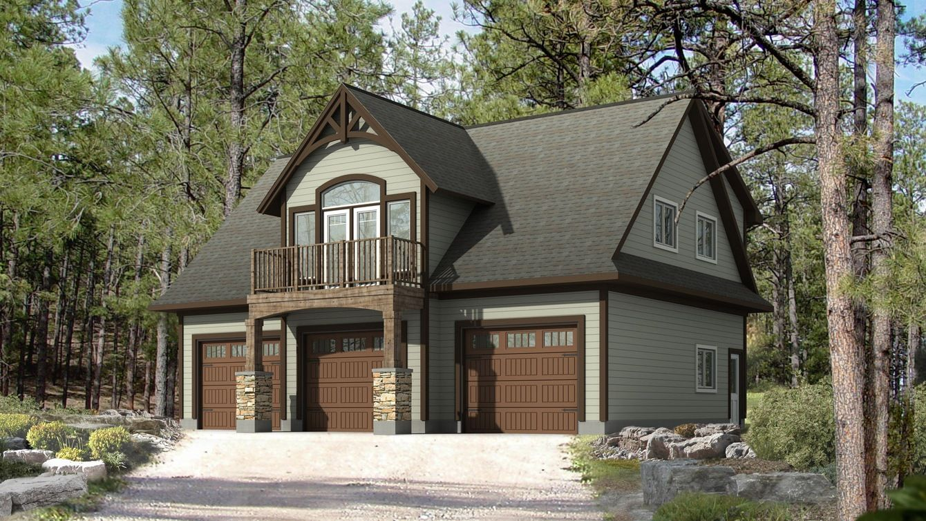 amazing home hardware garage package #5: Home Hardware Garage Plans With Apartment
