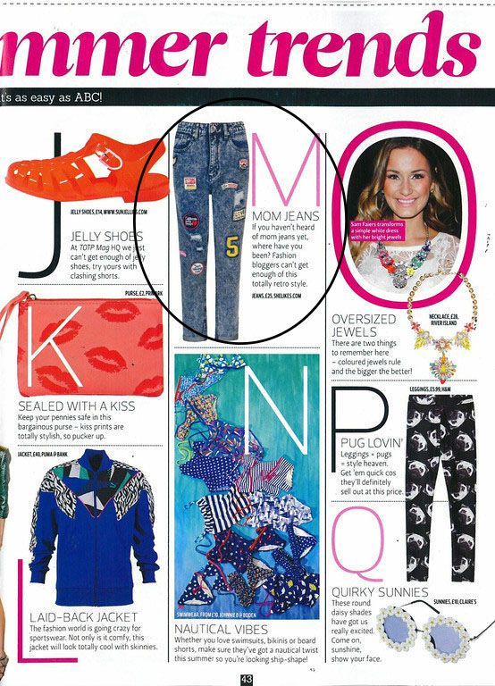 Shelikes Lana Patch Jeans get featured in Top Of The Pops! Shop them now at Shelikes.com! #inthepress #style #fashion #musthave