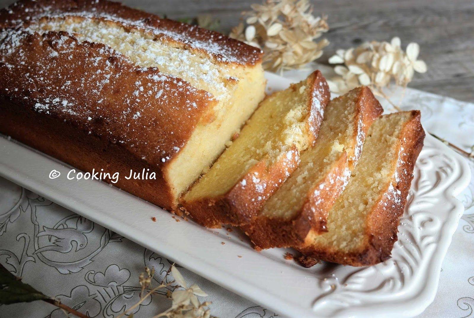 CAKE AU CITRON ET AU MASCARPONE (avec images) | Gâteaux et ...
