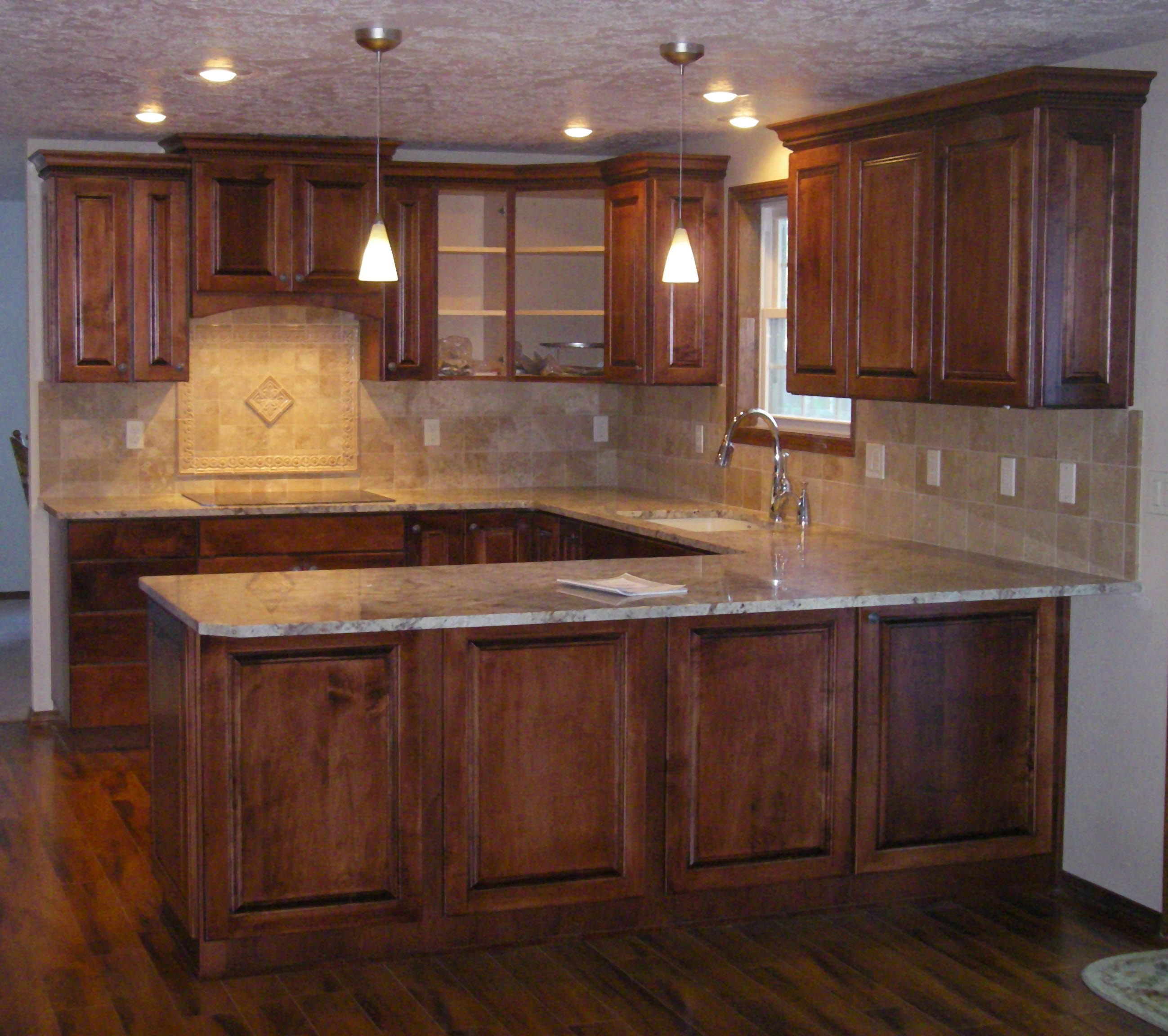 The 17 Best Cherry Kitchen Cabinets With Wood Floors And Granite Countertops Tags Cherry Kitchen Cabinet Design Cherry Cabinets Kitchen New Kitchen Cabinets