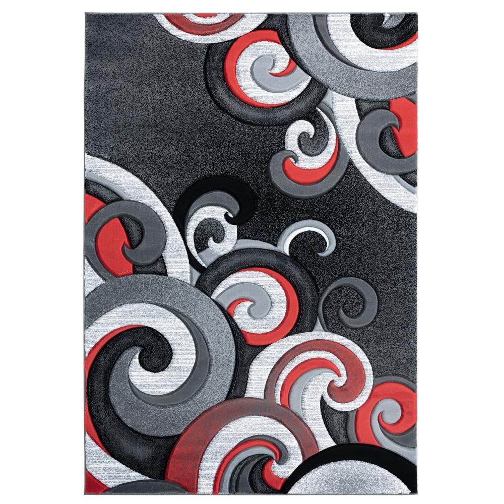 United Weavers Bristol Rhiannon Red 1 Ft 10 In X 2 Ft 8 In Accent Rug Products In 2019 Rugs Colorful Rugs Cool Rugs