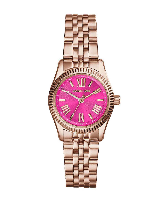 1f67bdce0b6d Women watches Online store for Michael Kors Lexington Petite Pink Dial Rose  Gold-tone Ladies Watch MK3285