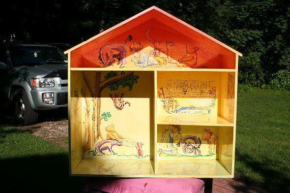 Adorable Classic Winnie The Pooh House Bookshelftoo Cute