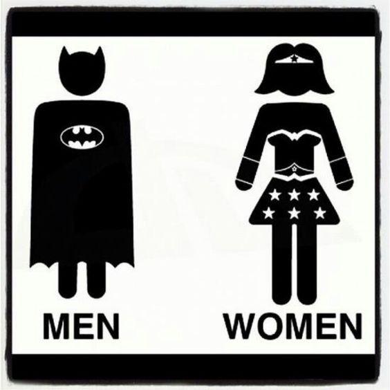 bathrooms signs. Bathroom Symbol Signs Wonderwoman Comics Pinterest . Bathrooms