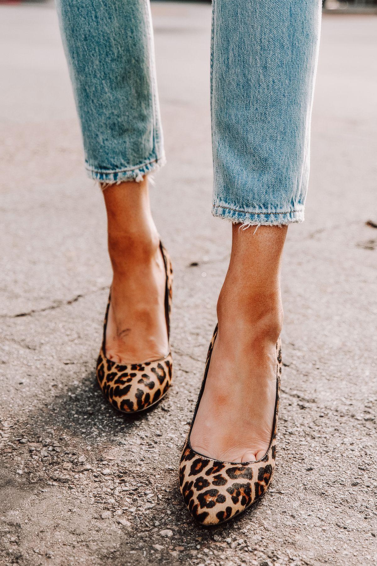 Leopard print heels, Leopard shoes