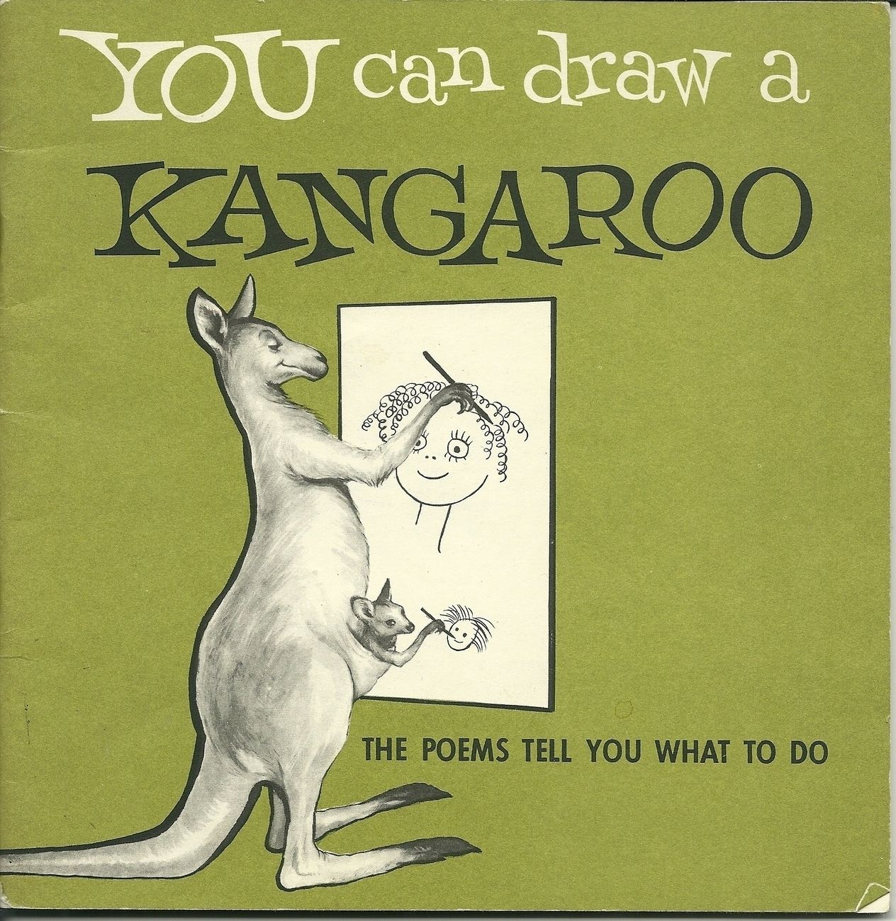You Can Draw A Kangaroo The Poems Tell You What To Do